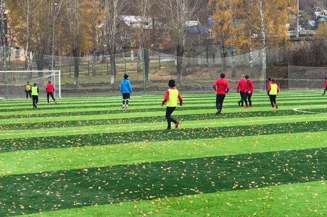 Работы выполнены в рамках регионального проекта «Спорт — норма жизни» национального проекта «Демография».