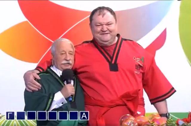 5-кратный чемпион мира посвятил Якубовича в батыры