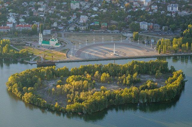 На острове в Воронежском водохранилище появится обелиск Петру I