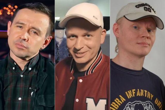 Андрей Лысиков, Андрей Котов, Павел Галкин.