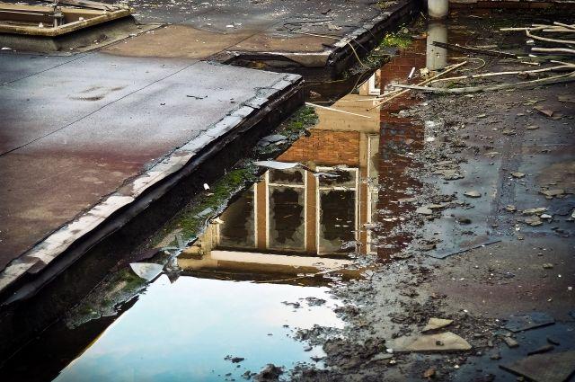 Земли оказались в зоне затопления.