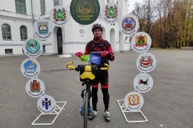 Путешественник откроет маршрут «Золотое кольцо Сибири».