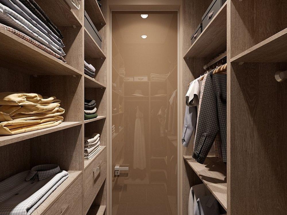 Гардеробная комната для самых нужных вещей.