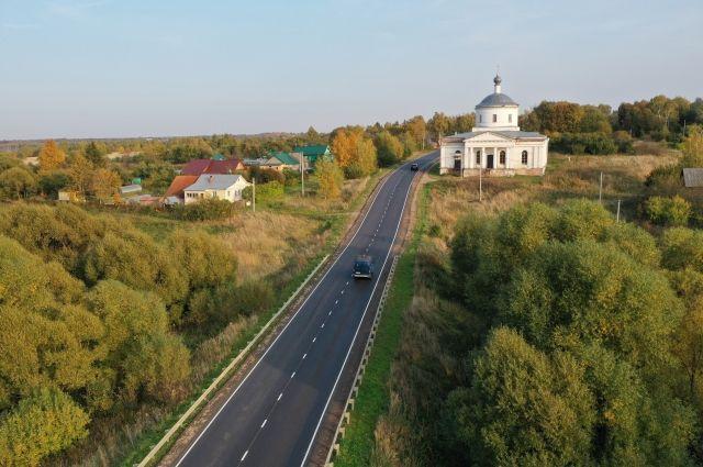 Выполнен ремонт участка трассы Переславль-Залесский – Владимир.