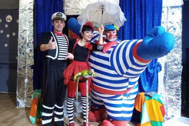Детское шоу в театре La Boheme.