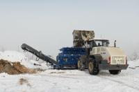 Дробильная установка для переработки отходов