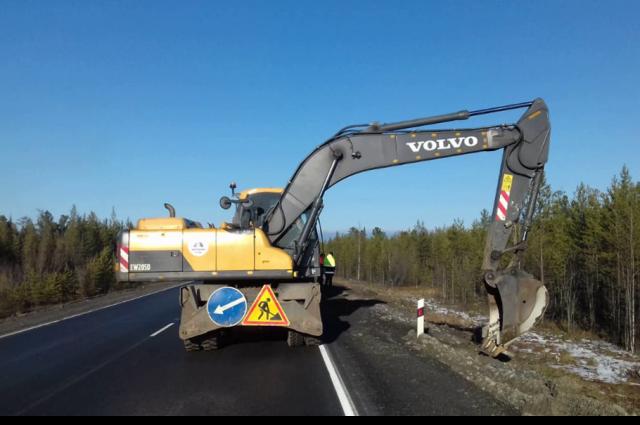 За год построено 6,5 км дорог