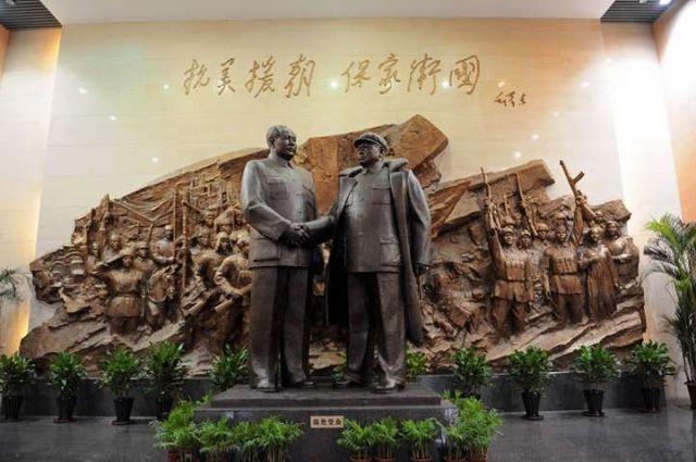Мао Цзэдун и Пэн Дэхуай.
