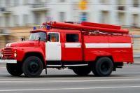 в Беляевском районе сгорела надворная постройка.