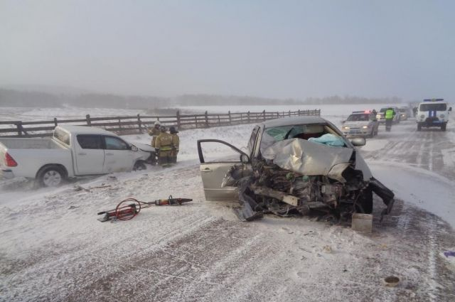 Трагедия произошла на трассе «Усть-Орда - Оса».