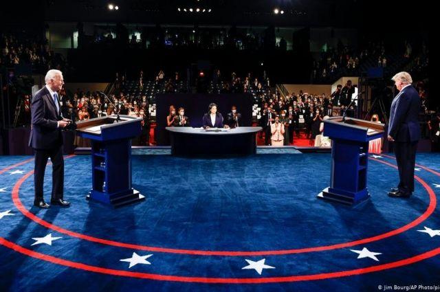 Без криков и оскорблений: в США прошли финальные дебаты Байдена и Трампа