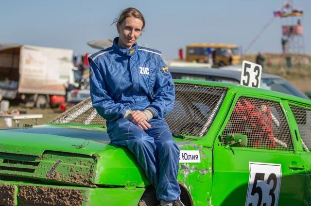 На гоночной трассе - спортсмен, а  в жизни Юлия - сдержанный и терпеливый водитель.