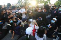 Антиправительственные выступления в Таиланде.