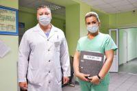 Персонал больницы прошел специальное обучение.