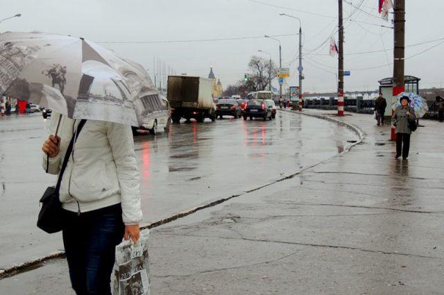 Без зонта на улицу выходить не стоит.