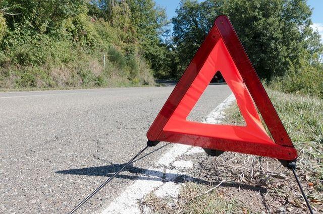 На трассе «Москва-Челябинск» произошла авария.