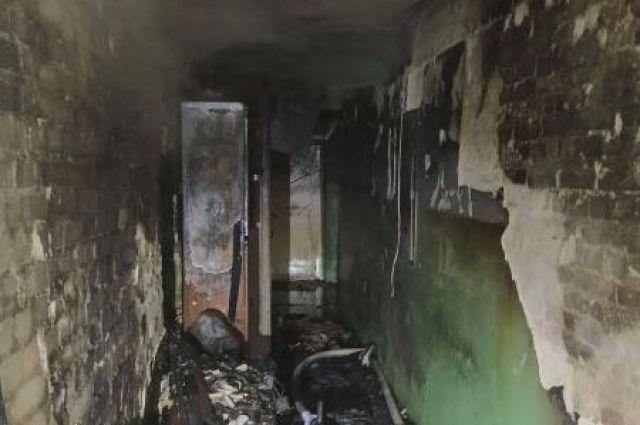 Во Львове произошел пожар в многоэтажке: пострадали двое детей