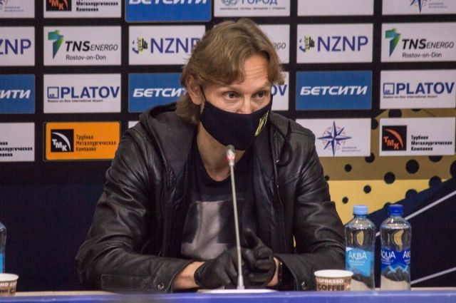 Главный тренер ФК «Ростов» не согласен с решением судьи матча с «Химками»
