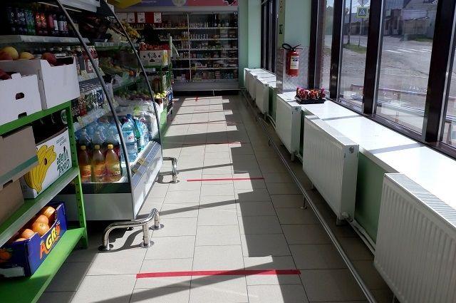 В магазинах Бердска нашли поврежденную разметку.