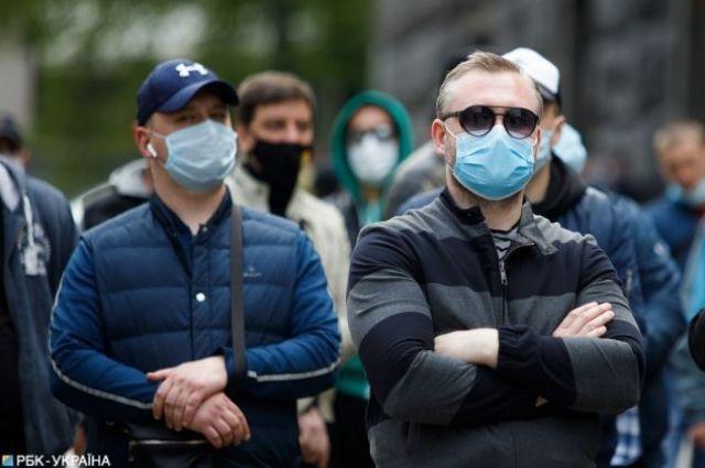 В Украине вступили в силу обновленные зоны карантина.