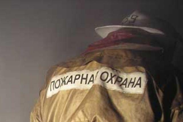 В селе Борисовка Оренбургской области произошел пожар.
