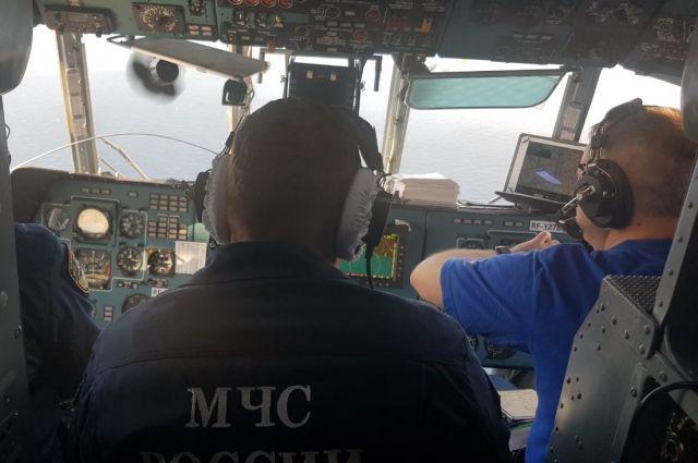 Активную фазу поисков пропавших моряков приостановили 26 октября.