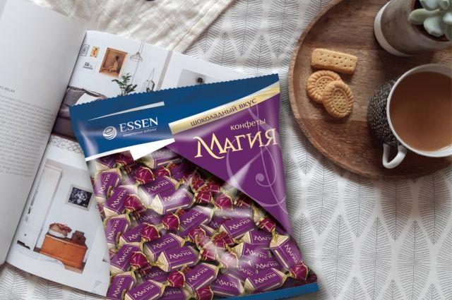 У конфет необычная кремовая начинка, структуру которой эксперты назвали «бархатной».