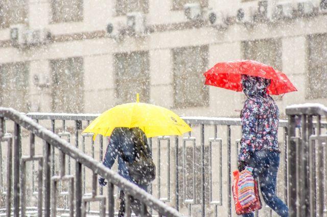 МЧС: в Тюмени 27 октября ожидается сильный ветер со снегом