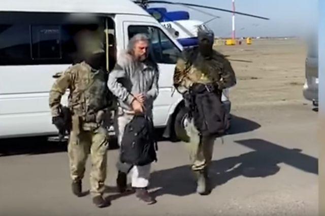 Сергей Тороп, он же Виссарион, был арестован в конце сентября.