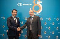 Документ подписали президент компании Владимир Потанин и губернатор Андрей Чибис.