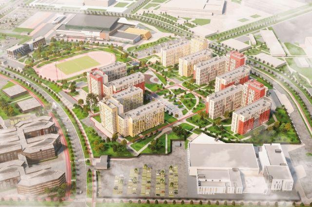 Так будет выглядеть будущая деревня Универсиады.