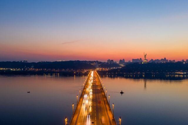 Названы самые красивые смотровые площадки Киева