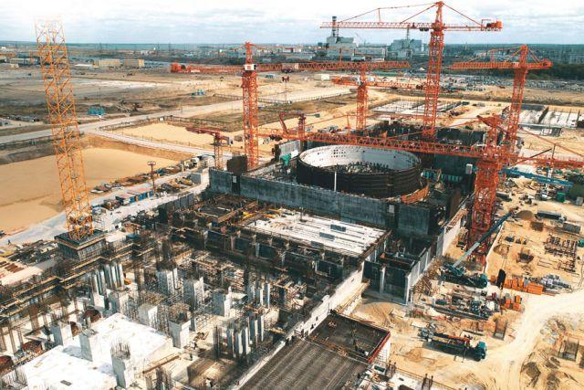 На площадке станции замещения Курской АЭС-2 сооружаются самые мощные в России энергоблоки.