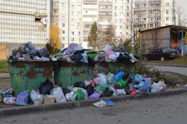 Вывоз мусора остаётся наболевшей проблемой для жителей республики.