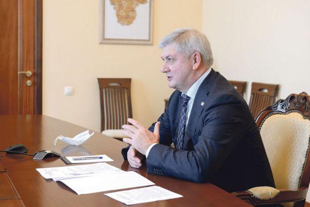 Торжественное заседание Национальной палаты Александр Гусев провёл в режиме видеоконференции.