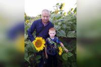 Владимир Орлов с внуком Александром Илясовым