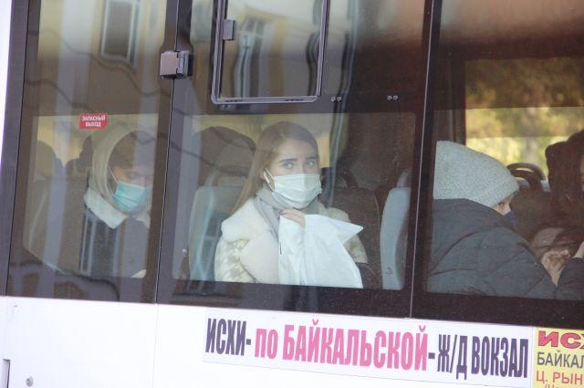 Лишней маски не найдётся? Транспорт взят на особый контроль из-за пандемии