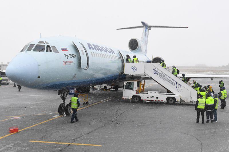 Заключительный рейс Ту-154. 28 октября 2020 года.