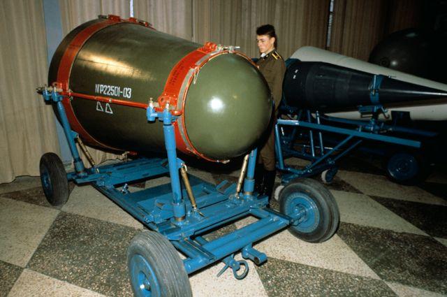 Термоядерный боевой блок. Музей ядерного оружия. Арзамас-16.