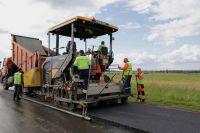 Масштабный ремонт дорог шёл весь год.