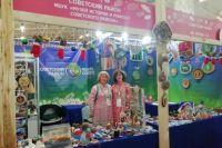Советский район - участник окружной выставки