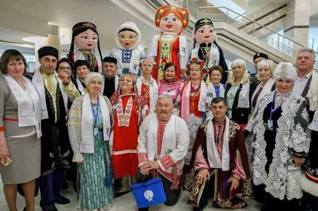 Ежегодно в Ханты-Мансийске  собираются разные народы на форум