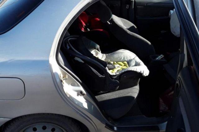 В Оренбурге произошла авария на перекрестке дорог улиц Бебеля-Котова.