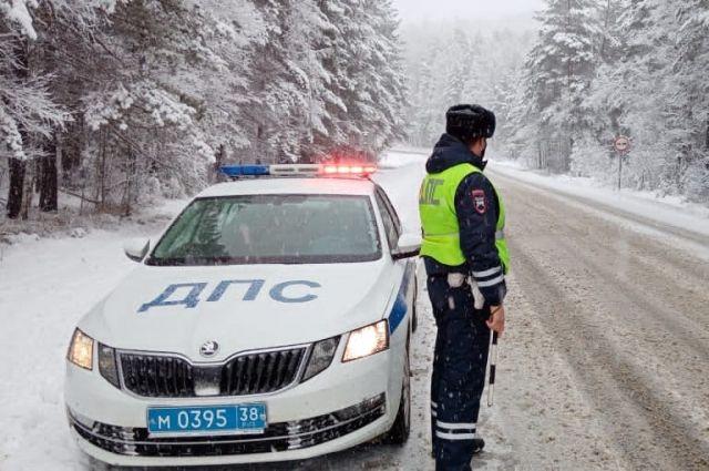 Водителей просят «переобуть» транспортные средства, и соблюдать скоростной режим на дороге.