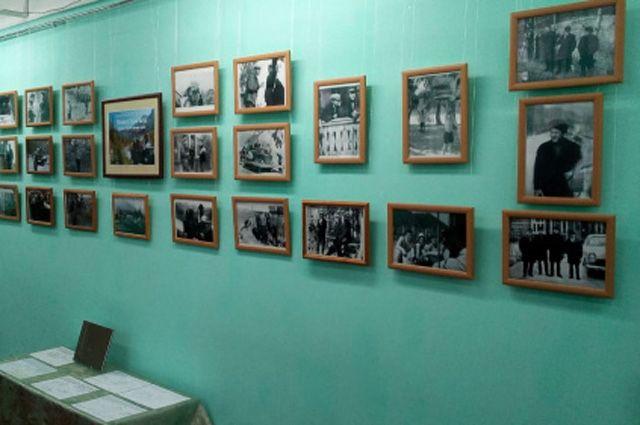 Выставка фотографий Василия Шукшина