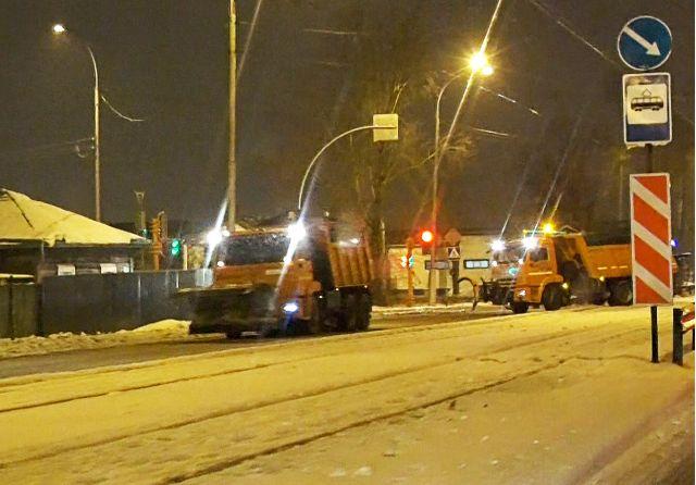 Мэр Новосибирска Анатолий Локоть рассказал, где будут хранить снег зимой. В городе предусмотрено 11 таких мест.