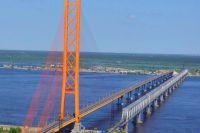 Югорский мост - один из самых длинных мостов в Сибири