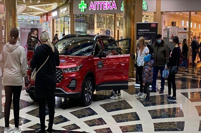 Четверть всех проданных в России CHERY пришлась на долю TIGGO 8.