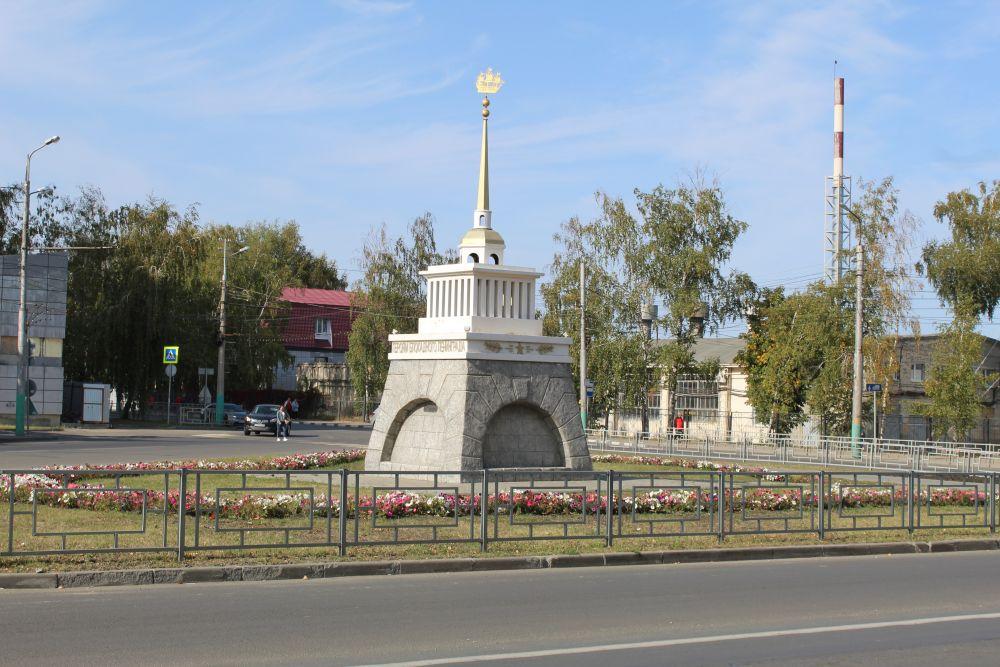Памятник героям блокадного Ленинграда.
