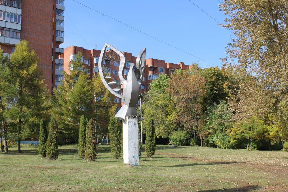 Голубь мира на Западной Поляне.